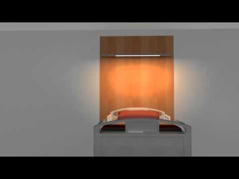 ZERA BED Wall-Mounted Luminaire (EN)