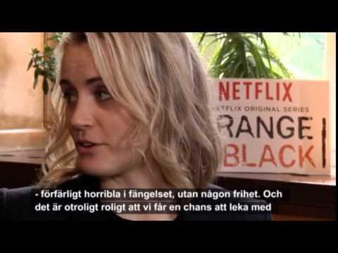 Taylor Schilling & Laura Prepon Sweden Interview for TV4Nyheterna - Orange Is The New Black Season 2