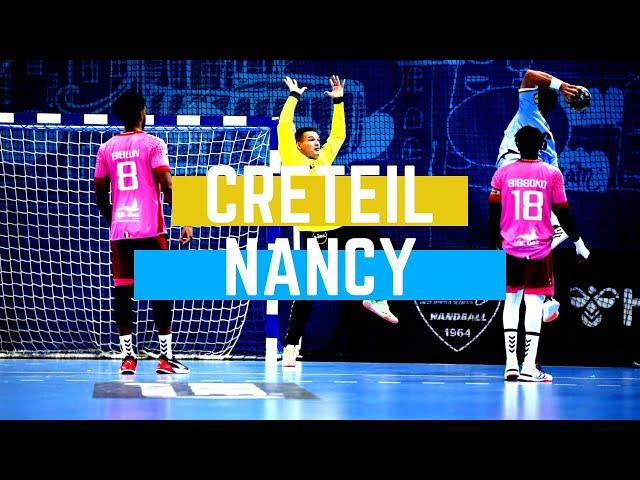 Résumé de Créteil/Nancy (J05 - Liqui Moly StarLigue)