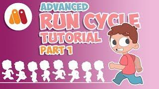 Run Cycle Tutorial | Moho Pro 12 & Anime Studio | Part 1