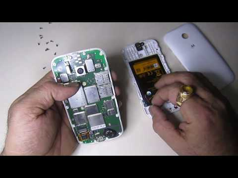 Moto E Disassembly | Moto E XT1022 Battery and Display Replacement | Complete Guide