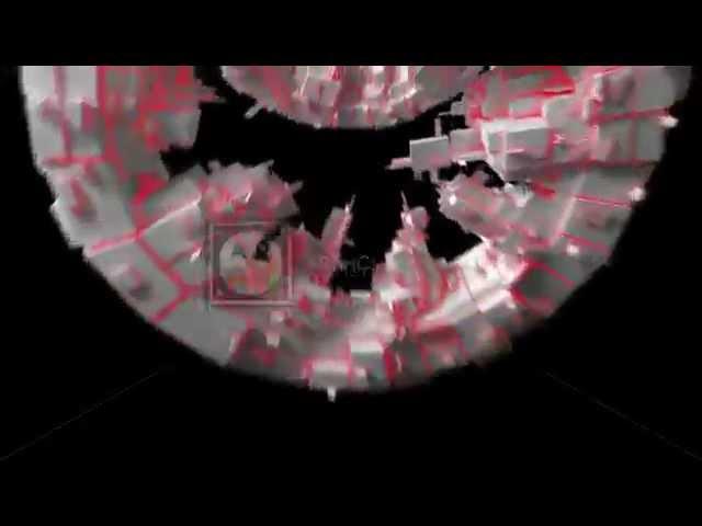 VJ TUNNELS 3D GREEBLE MIX HD