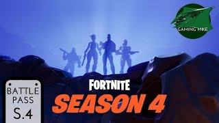 Season 4 Battle Pass Explained | All Tiers All Cosmetic Sets | Fortnite: Battle Royale