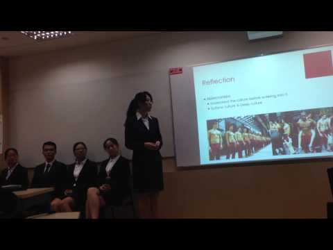 [HW0310] Presentation - Intercultural Sensitivity