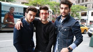 Il Volo Sings Grande Amore on the New York City Streets