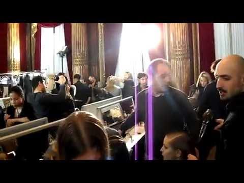 Paris Fashion Week: Pedro Lourenço Fall/10 backstage