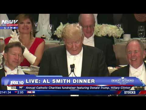 FULL: 2016 Al Smith Dinner Featuring Donald Trump and Hillar