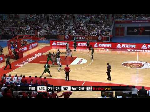 Angola v Nigeria   Game Highlights   Final   AfroBasket 2015