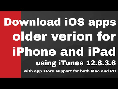 How to download older version ios 9 3 5 apps | iTunes 12 6