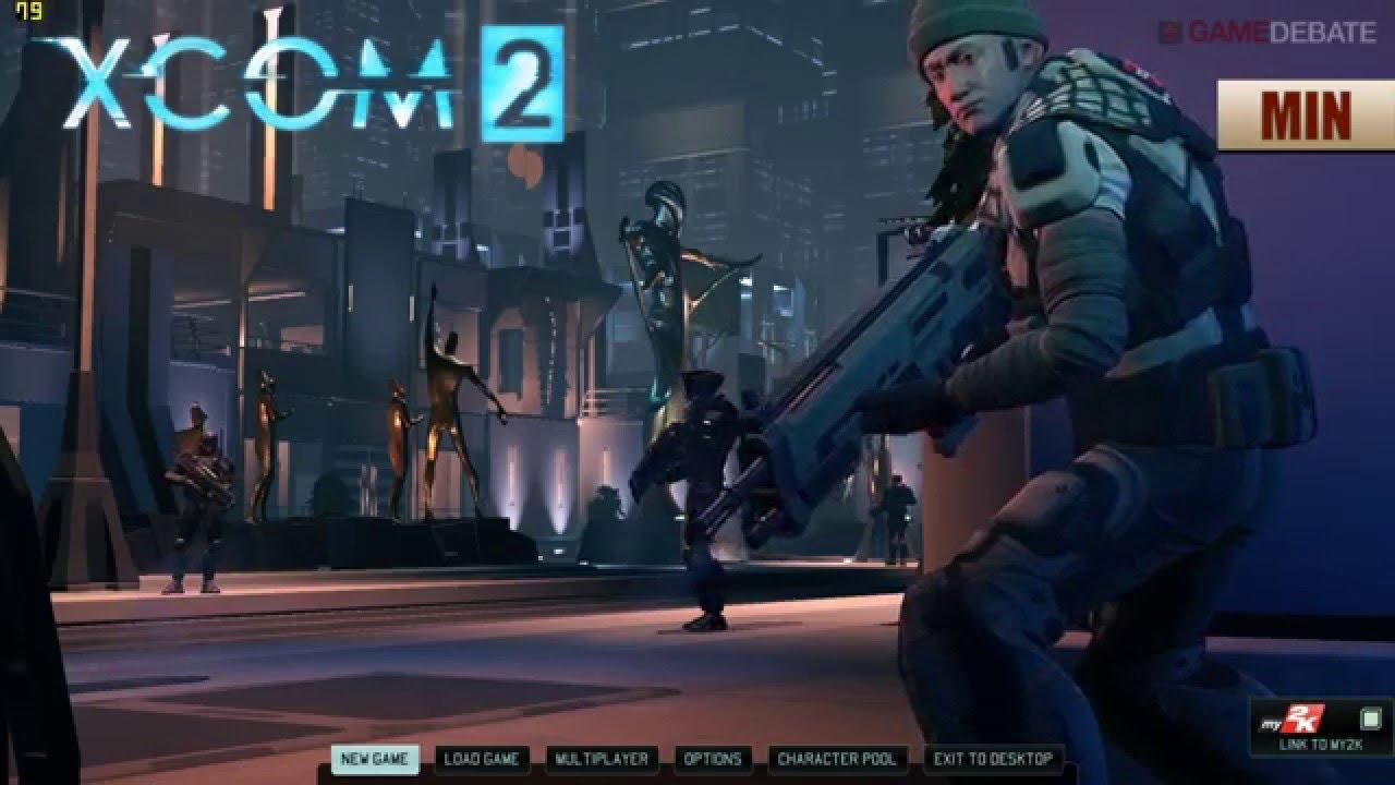 XCOM 2 PC Minimum vs Maximum Graphics Benchmarks YouTube
