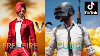 Free Fire VS Pubg Tik Tok in tamil
