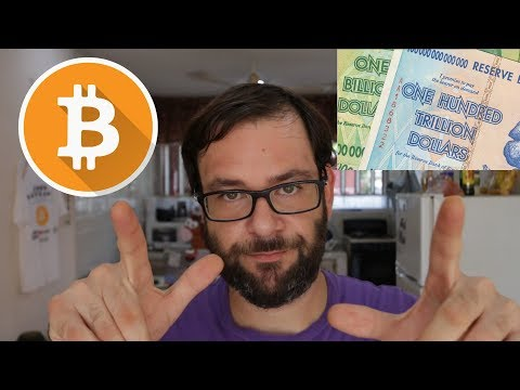 How Does Hyperinflation Affect The Bitcoin Price? - Cryptocurrency Explained For Dummies 2019