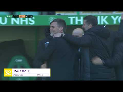 Hibernian Motherwell Goals And Highlights