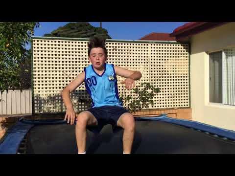 My new trampoline!!!