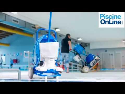 Aspirateur manuel pour piscines collectives quick vac for Aspirateur piscine youtube