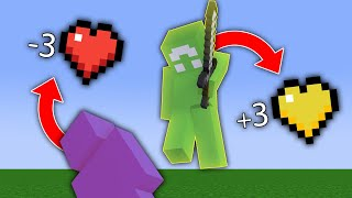 Minecraft Manhunt, But I Have Lifesteal...