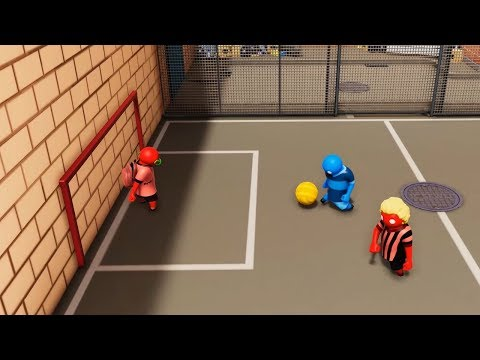 FUTBOL EN GANG BEASTS!!! - WILLY VS FARGAN VS VEGETTA