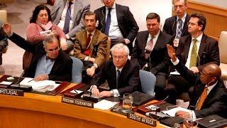 فتيل حرب عالمية ثالثة.. شاهد الإشتباك بين المحور الأمريكي والمحور الروسي في مجلس الأمن !