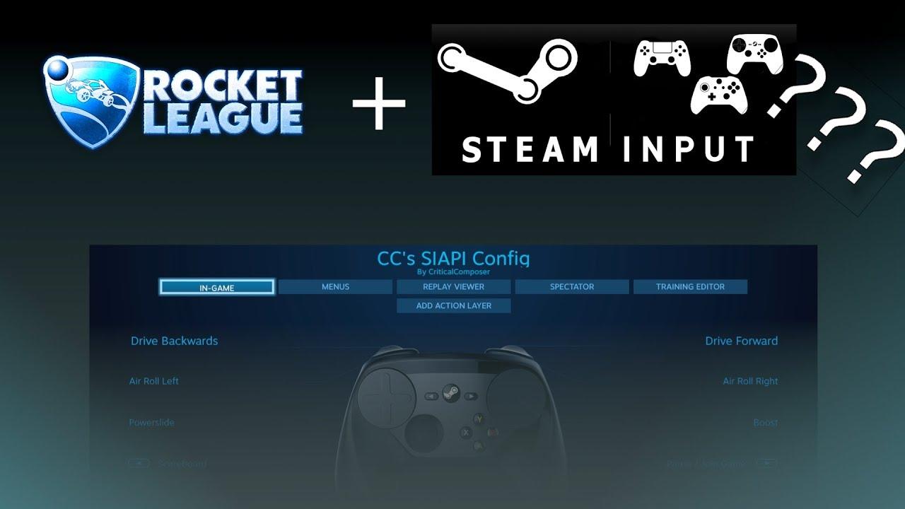 Rocket League Has Native Steam Input Support!!! – Bryan Rumsey