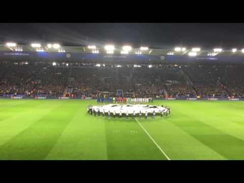 Leicester City v Copenhagen: Champions League  (UCL Anthem + Pre-match Display)