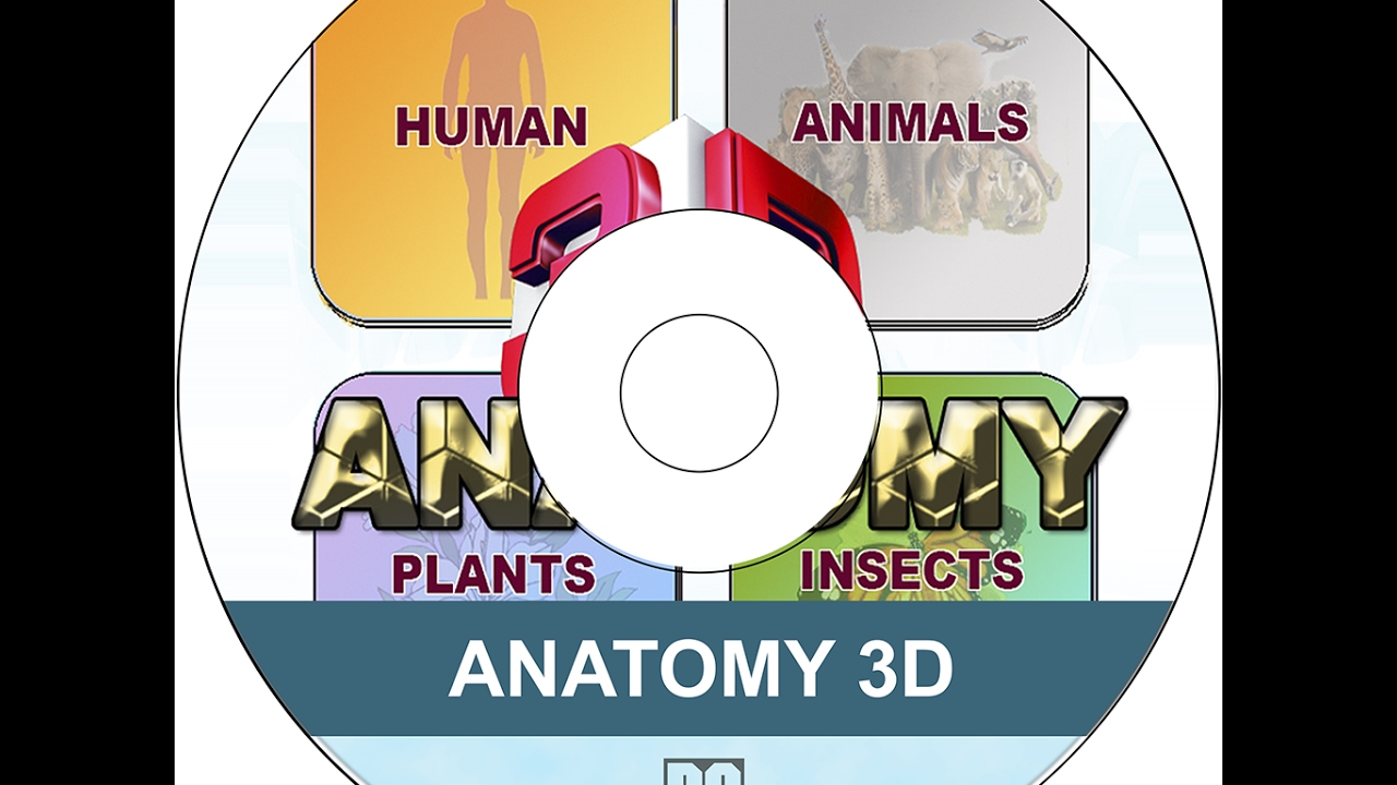 Anatomy 3d Software - Human Anatomy, Animal Anatomy, Plant Anatomy ...