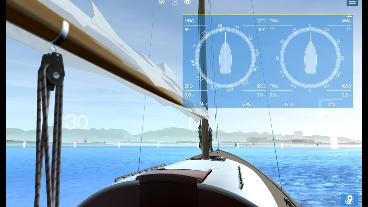 Sailaway Sailing Simulator - Quick Start and How to Sail