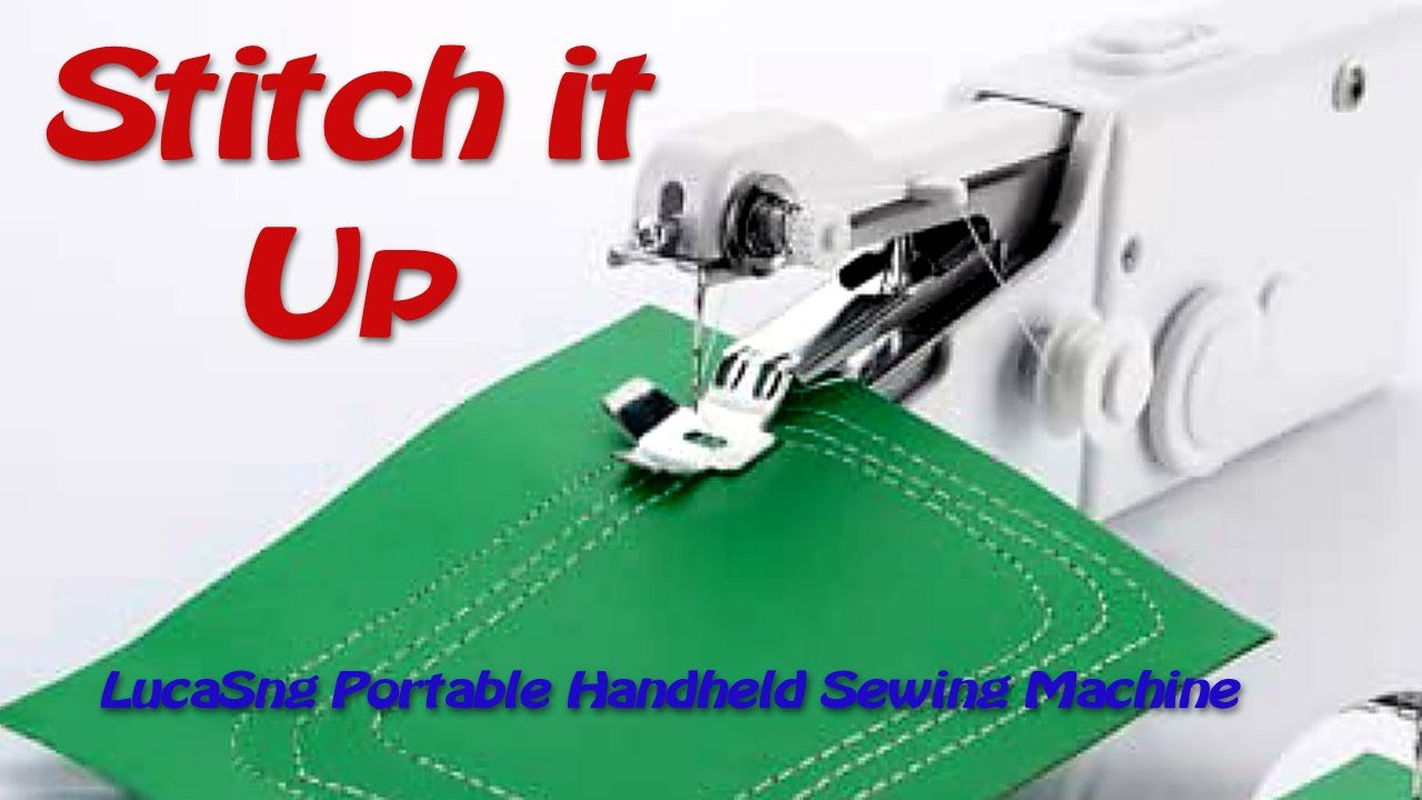 Download LucaSng Portable Handheld Sewing Machine