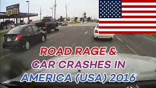 Road Rage & Car Crashes In America (USA) Compilation 2016 (part 7)