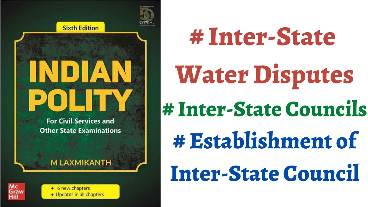 Download (V68) (Inter-State River Disputes & Inter-State Council - Article 262 & 263) M Laxmikanth Polity