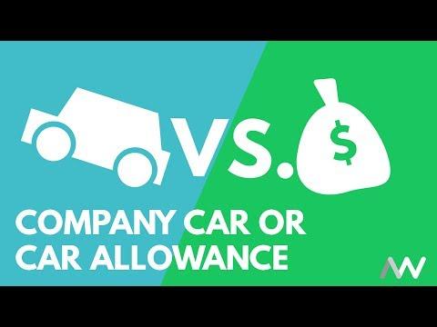 Company Car or Car Allowance - What do I Choose?