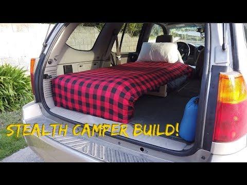 Stealth Urban Camper Build | 2003 GMC Envoy SUV | Part 1