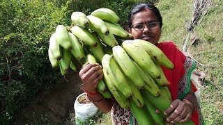 Vazhakkai Podimas / Village Style Banana Podimas Recipe / Food Money Food