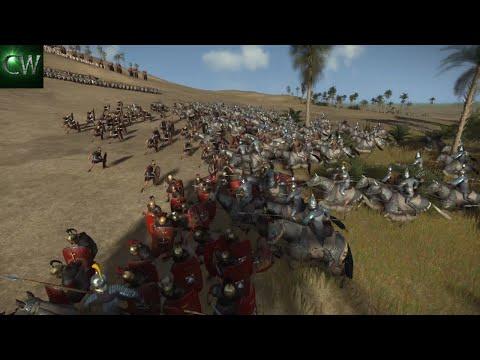LEGIONARIES HEWN DOWN BY PARTHIAN SWORDS! 2v2 Rome II Battle (Land)