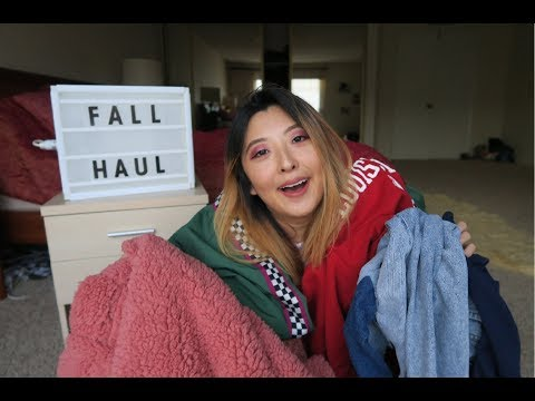 HUGE Fall/Winter Haul 2017 - Urban Outfitters, American Eagle, & More!