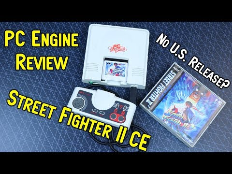 PC Engine Street Fighter II Champion Edition - Was It The