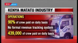 The daily earnings of the Matatu industry as they withdraw services | #MichukiRules