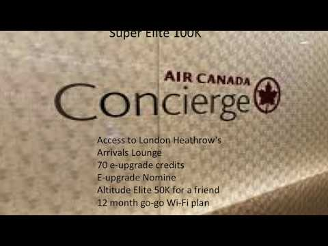 What Is Air Canada Altitude?