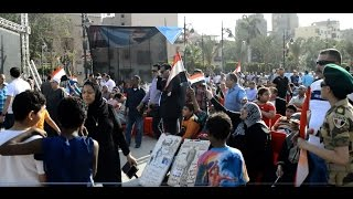 """احتفالات ذكرى تحرير سيناء أمام """" قصر عابدين """""""