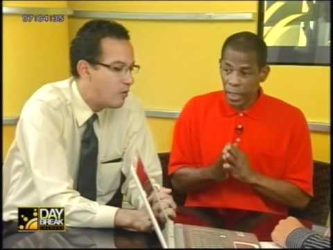 Ray Roberts & Nickholas Steele speak on Union issues in Grenada