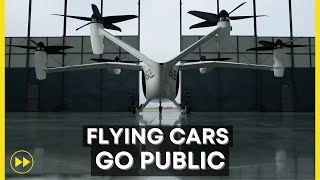 Flying Cars Go Public on NYSE (JOBY AVIATION)
