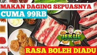 Makan Daging Murah Cuma 99rb Di Pochajjang Ciputat