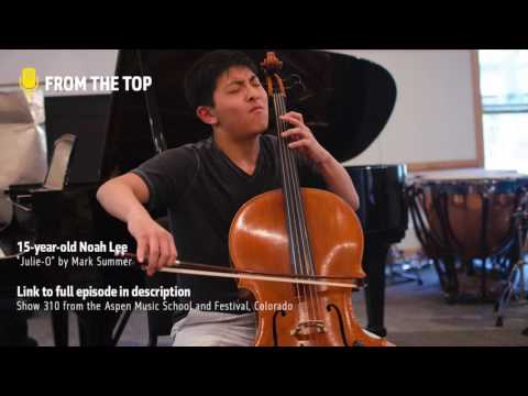 Noah Lee, 15, performs Julie-O by Mark Summer | From the Top