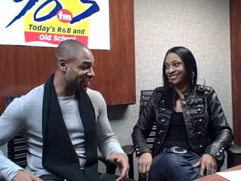 Jammin' 98.3's Andrea Williams Interviews TANK  (part 1)