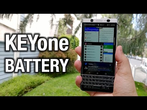 BlackBerry KEYone: About that epic battery life...