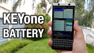 BlackBerry KEYone  About that epic battery life