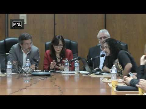 Foro politico en L.A. SOBREE MEXICO, TRUMP...: JOHN AKERMAN, YEIDCKOL POLEVNSKY, MIGUEL TINKER SALAS