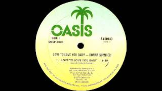 Donna Summer - Love To Love You Baby (Original Extended Version) Oasis Records 1975