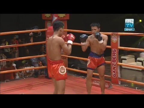 Koy Lay vs Faimai(thai), Khmer Boxing MY TV 23 March 2018, Kun Khmer vs Muay Thai
