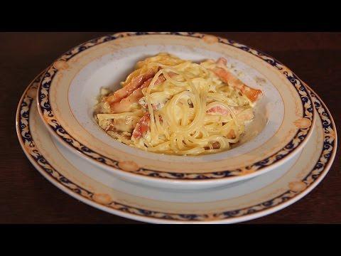 Спагетти Карбонара. Рецепт от шеф-повара