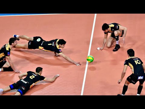 TOP 20 Epic Volleyball All Team Saves
